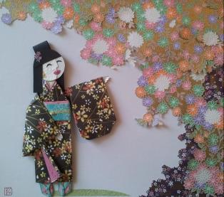 Origami Lady