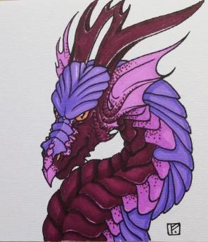 Grumpy Purple